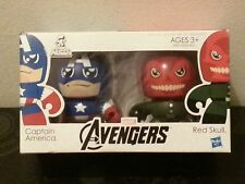 Hasbro AVENGERS MINI MUGGS Captain America + Red Skull Brand New Mighty Heroes
