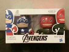 Hasbro AVENGERS MINI MUGGS Captain America + Red Skull Brand New Mighty Heroes