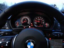 M3 M4 OPTIK TACHO (LED) UMBAU WEISS FÜR BMW 3er F30 F31 F34 F35 4er F32 F33 F36