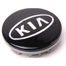 Wheel Hub Cap Emblem Black 1p For 08 10 Kia Soul
