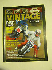 February 2008 issue 227 Vintage Views AHRMA Magazine  (BD-42)