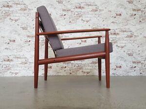 Danish Modern Grete Jalk Teak Sessel Easy Chair France & Søn Denmark 60er