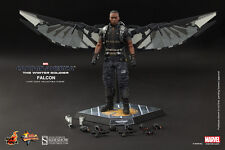"""HOT TOYS Captain America Winter Soldier FALCON 12"""" Figure Sideshow Anthony Macki"""