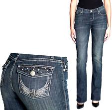 Rock & Republic  Kasandra Studded  Bootcut Jeans Women's size 4M