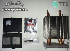 EIGHT CORE E5472 3GHz 1600MHz XEON CPUs DELL Precision T7400 kit +heatsink