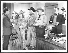 Linda Sterling Hand-Signiert Western Foto Waggon Räder Handsigniert