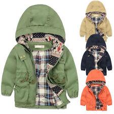 Markenlose Mädchen-Jacken aus 100% Baumwolle