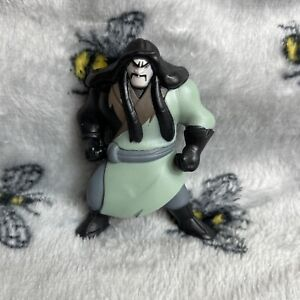 F Disney Mini Figure Toy Character Mulan Cartoon Rare Villain Shan Yu