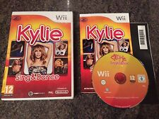 Kylie Sing And Dance Wii Game! Complete! Look In The Shop!