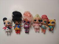 Lol surprise dolls lot of 6 B3 L1