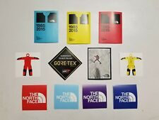11 North Face stickers 1985 mountain guide man/glacier gore tex Himalayan suit
