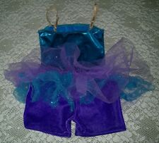 Dance Recital skirted leotard biketard Ice skating Adjustable Size
