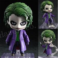 Animation Q Version The Dark Knight Joker 4'' PVC New Box Complete Figure Toys