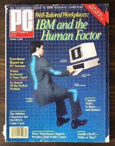 PC Magazine - October 2, 1984, Vol. 3, No. 19