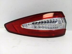 2013-2016 Ford Fusion Left Hand Outer LED Tail Light OEM DS73-13405