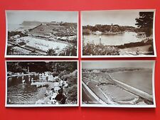 Collection of 4 NEW old Stock Vintage 1950s Real Photo Scarborough Postcards