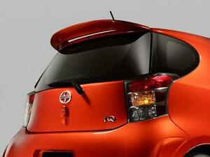 2012-2013 NEW OEM SCION IQ FACTORY PAINTED209 BLACK SAND PEARL REAR SPOILER