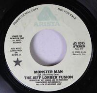 Funk Promo 45 The Jeff Lorber Fusion - Monster Man / Same On Arista (Promo)