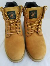 POLO Ralph Lauren Mens Leather Boots Size 13