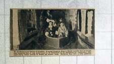 1921 great Drapery Shop In South London Opens 200 Feet Of Waterways In Basement