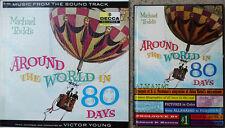 AROUND THE WORLD IN 80 DAYS - VICTOR YOUNG - DECCA LP + 72 PG HARDBACK ALMANAC