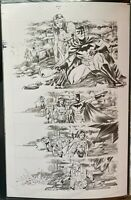 Trinity (2016) 2 Pg 16 Francis Manapul Original Art Page Batman Wonder Woman 84