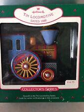 1988 Tin Locomotive Hallmark collector ornament