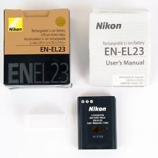 Nikon batterie originale EN-EL23 pour Coolpix B700,  P600 et P610 et P900