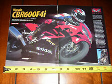 2001 HONDA CBR600F4i - ORIGINAL ARTICLE CBR 600