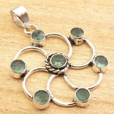 Free Shipping on Additional Items! Silver Plated Apatite Pendant FASHIONABLE