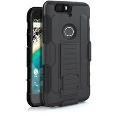 """Belt Clip Holster Stand Rugged 2in1 Hybrid Case Cover For Huawei Nexus 6P 5.7"""""""