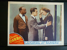 1940 LAUGHING AT DANGER - MANTAN MORELAND LOBBY CARD - BLACK AMERICANA