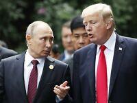 Donald Trump & Vladimir Putin at APEC Summit Danang Vietnam Photo Picture 8 x 10