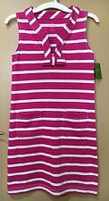 NWT Kate Spade Pink White Stripe Tropez Dress Size XS