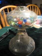 Vintage Glass Marbles Jar Holder