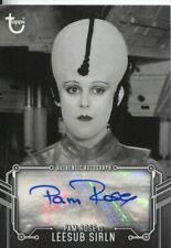 Star Wars Black & White A New Hope Autograph Pam Rose
