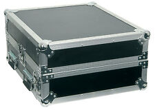 CITRONIC Rack Case Flightcase Mezclador 2u + 10U 171.715 Combo