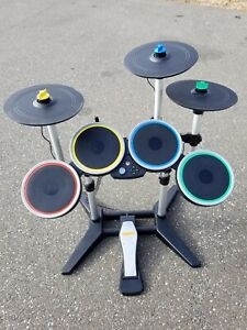 Rock Band 4 - for XBOX ONE - Fender Guitar, Drum Set and Pedal free shipping