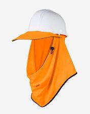 Workwear Protecta Under the Hat UPF50+ Sun Protection FLURO ORANGE