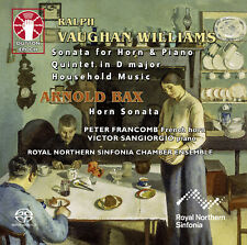 RALPH V. WILLIAMS • Household Music, Horn Sonata, Quintet & A. BAX • Horn Sonata