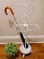 Ornate SCROLL Coeur Métal parapluie Shabby Vintage Chic Décor Maison Couloir