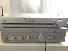 Technics Integrated Amplifier and Stereo Tuner - Su-C04 / St-C01