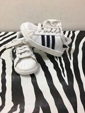 Toddler Boys Shoes Size 7 Adidas All Star Superstar Black And White CUTE