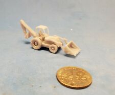 N Scale Back Hoe, 3D Resin Printed, Unpainted
