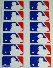 """12 MLB LOGO HELMET 3M STICKER DECALS Size 1 3/8"""" x 7/8"""""""