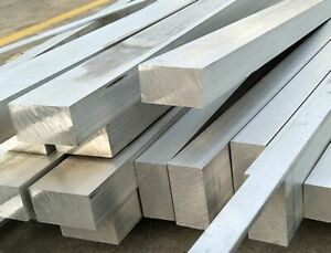 6061 Aluminum Square Rod Thickness 35mm - 50mm L:50-500mm-Select [M1]