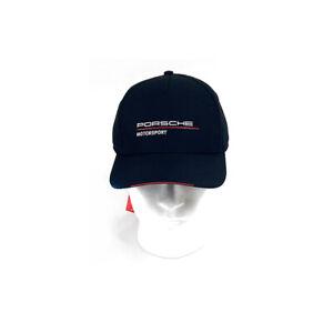 Porsche Motorsport Black Team Cap