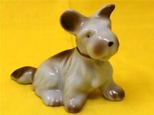 Vintage 1950's Porcelain Sweet Scottish Terrier/Scottie Dog Figurine Japan