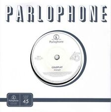 "COLDPLAY - MIDNIGHT 7"" Vinyl Single w/ Etched B Side Limited Ed Import NEW"