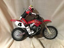 Radio Shack Ricky Carmichael RC Dirtbike Motocross CR250R Honda UNTESTED